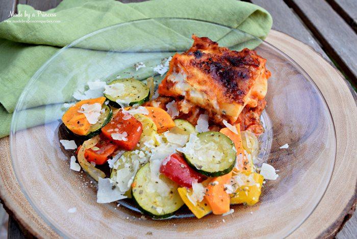 hearty seasonal vegetable casserole recipe with lasagna