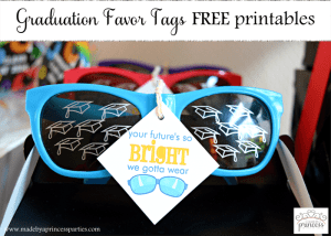 Graduation Favor Tags FREE Printables