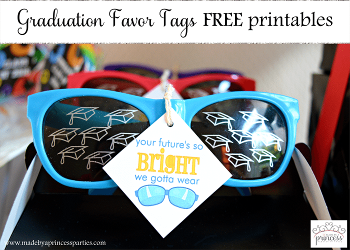 graduation favor tags free printables