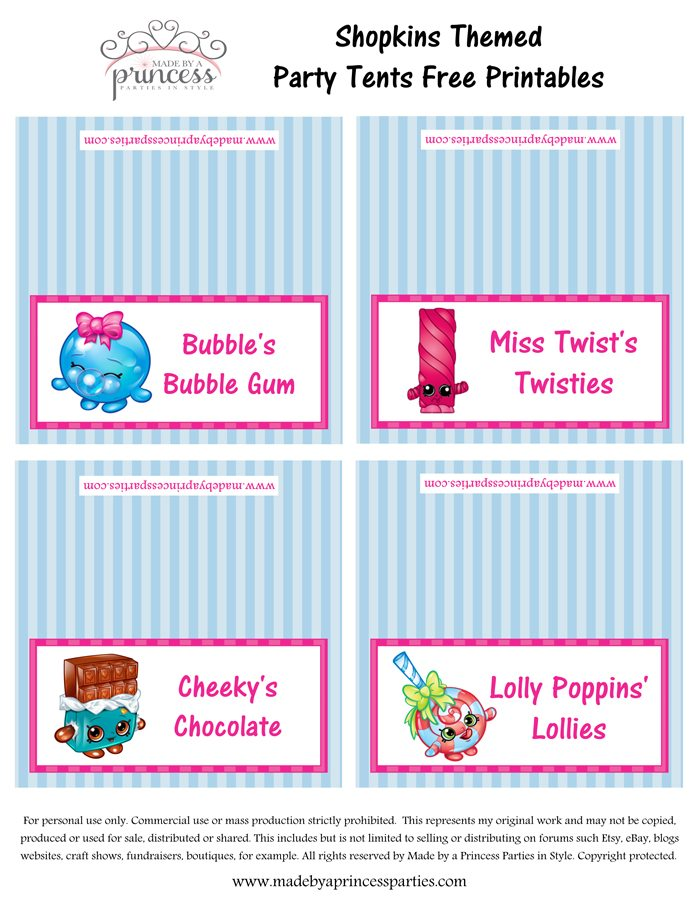 Smart image for free printable shopkins food labels