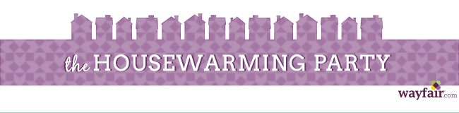 wayfair Housewarming party outdoor party spaces logo