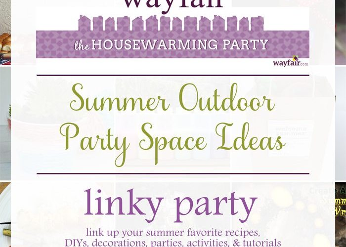 Wayfair Housewarming Party: Outdoor Party Space Ideas