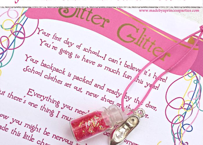Back to School Mommy Magic Jitter Glitter Card FREEBIE
