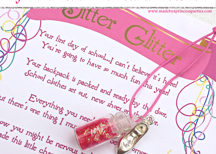 Back to School Mommy Magic Jitter Glitter Card FREEBIE
