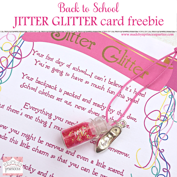 Back to School Mommy Magic Jitter Glitter Card Freebie main