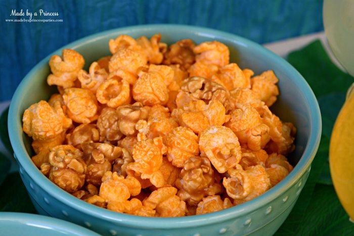 disney-moana-movie-inspired-party-caramel-cheddar-cheese-popcorn