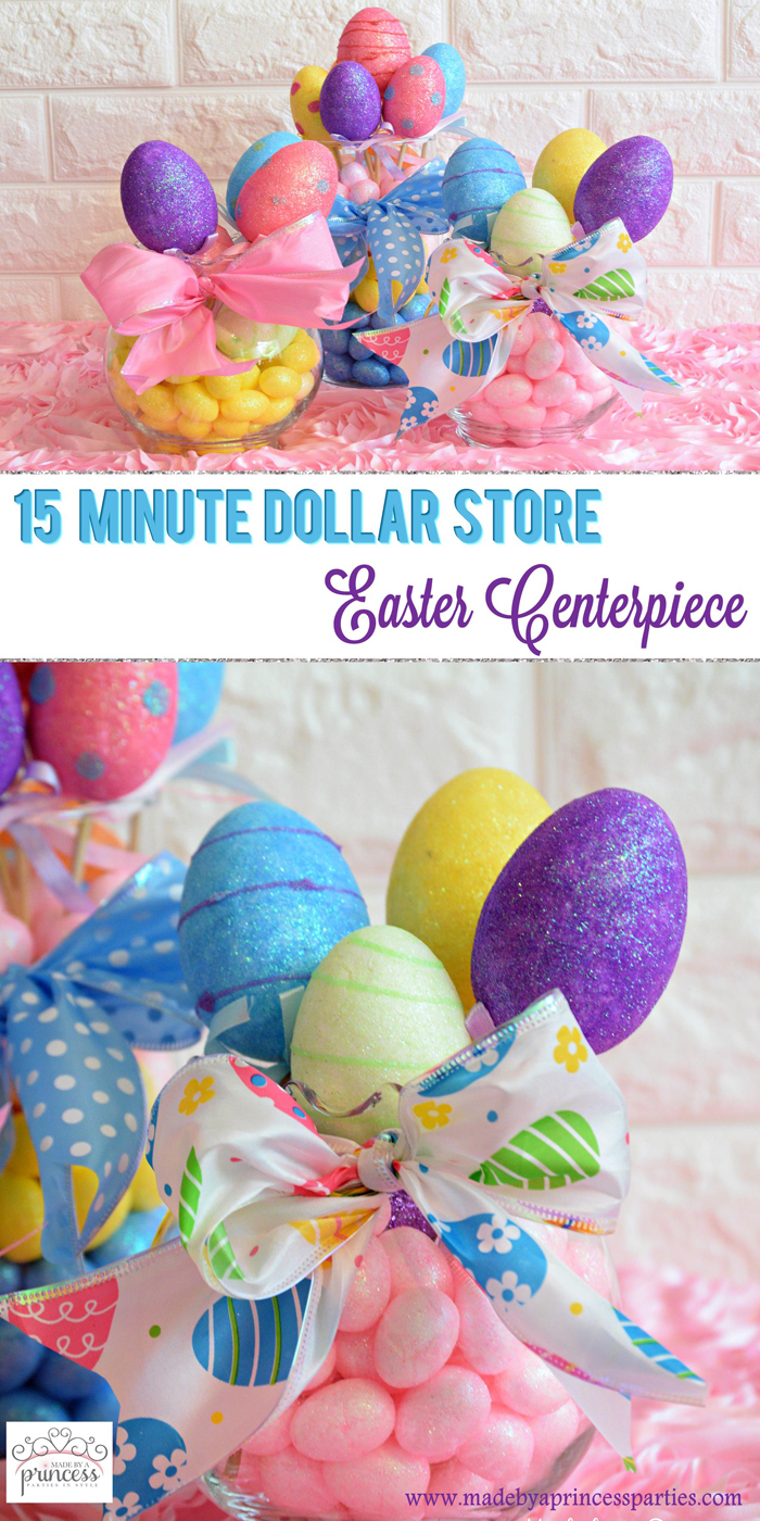 Creative Dollar Store Easter Centerpiece Tutorial pin it