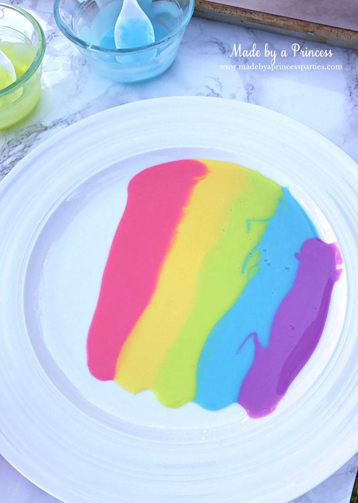 Rainbow Donuts Party Food Tutorial purple sugar glaze