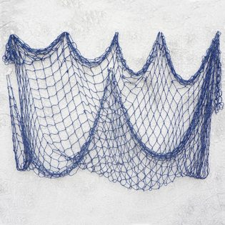 Fishing Baby Shower Ideas blue net
