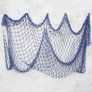 Fishing Baby Shower Ideas blue net