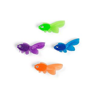 Fishing Baby Shower Ideas plastic toy fish