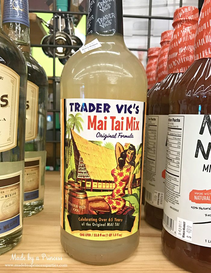 Summertime Picnic Basket Must Haves mai tai mix