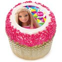 Fashionista Barbie Party Ideas Barbie Edible Image - Made by a Princess #barbie #barbieparty