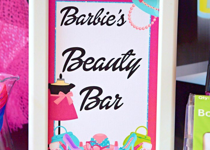 Fashionista Barbie Party Ideas Free Printables