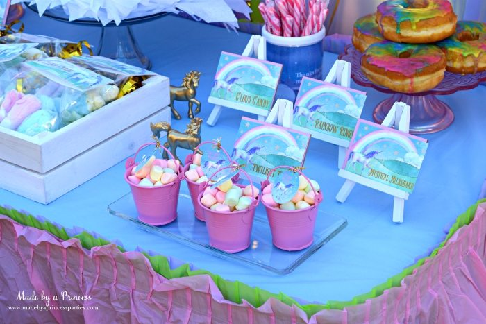 Unicorn Party Ideas Party Food - Made by a Princess #unicorn #unicornparty
