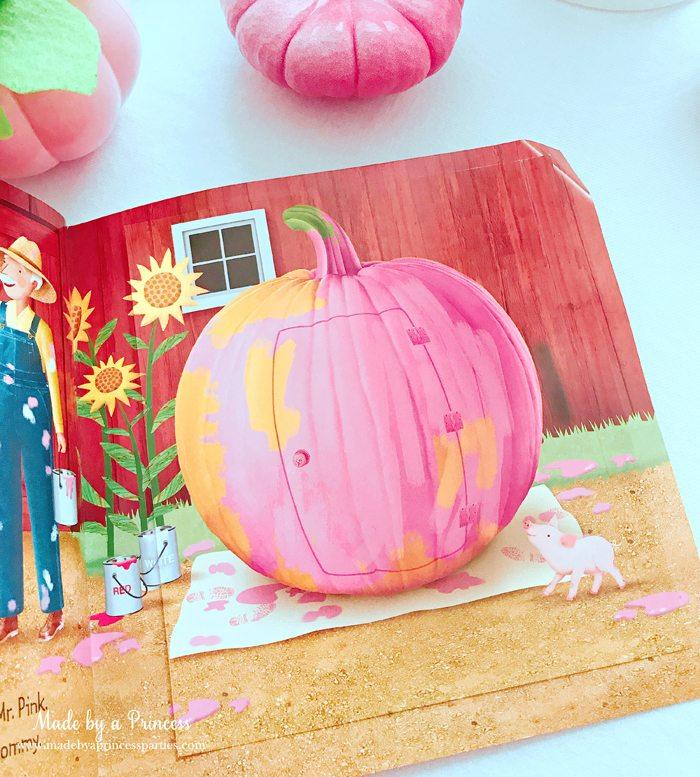 Pink Pumpkin Halloween Party Ideas pinkalicious and the pink pumpkin book 2 Made by a Princess #pinkparty #pinkoween #pinkpumpkinparty