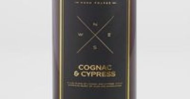 Cognac and Cypress Candle