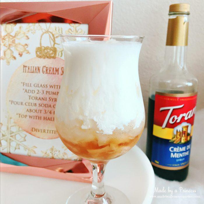 How to Make Italian Cream Soda Party Idea Top with Cream