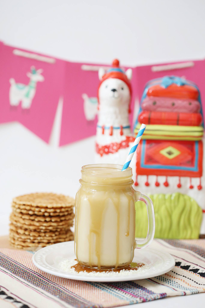 National Llama Day World Market Event FREE Llama Dulce de Leche White Hot Chocolate Drink