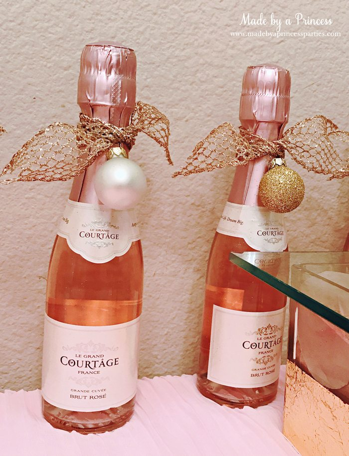 Winter WINEderland Holiday Party Le Grand Courtage Mini Roses