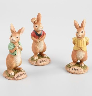 Peter Rabbit Tea Party Inspiration Peter Rabbit Sisters Figurine