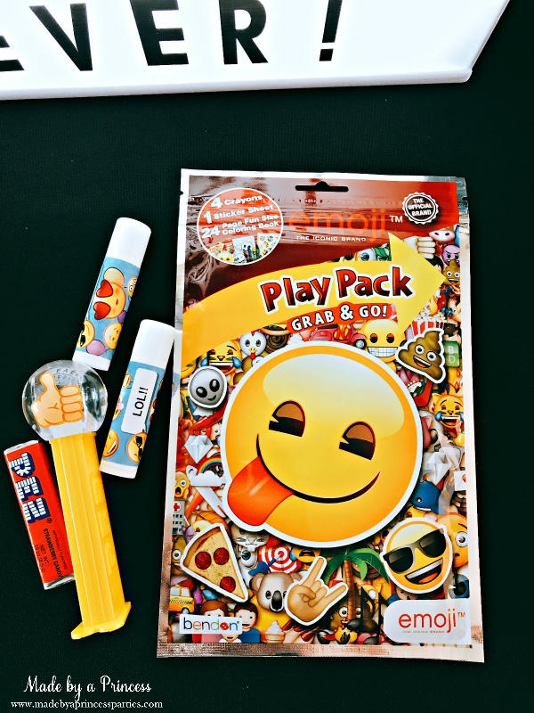 Emoji party ideas emoji Pez dispenser and party pack
