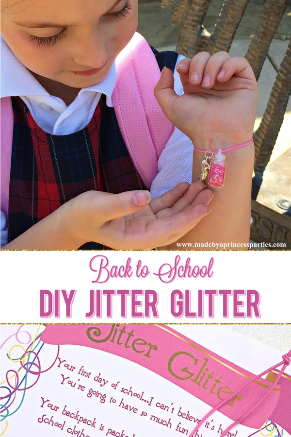 How to make your own Back to School Mommy Magic Jitter Glitter