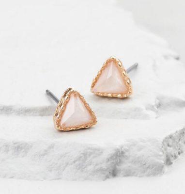Golden Holiday Entertaining Essentials gold opal earrings