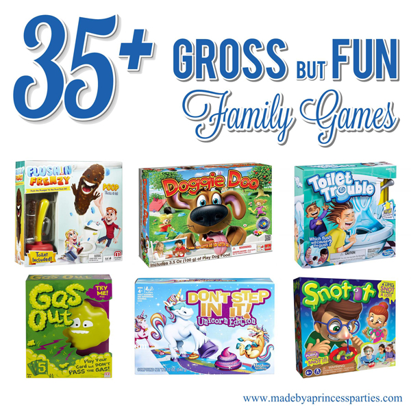 Totally Gross Fun Family Board Games