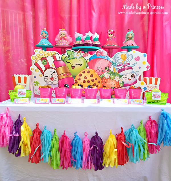 Shopkins Birthday Party Ideas Made By A Princess