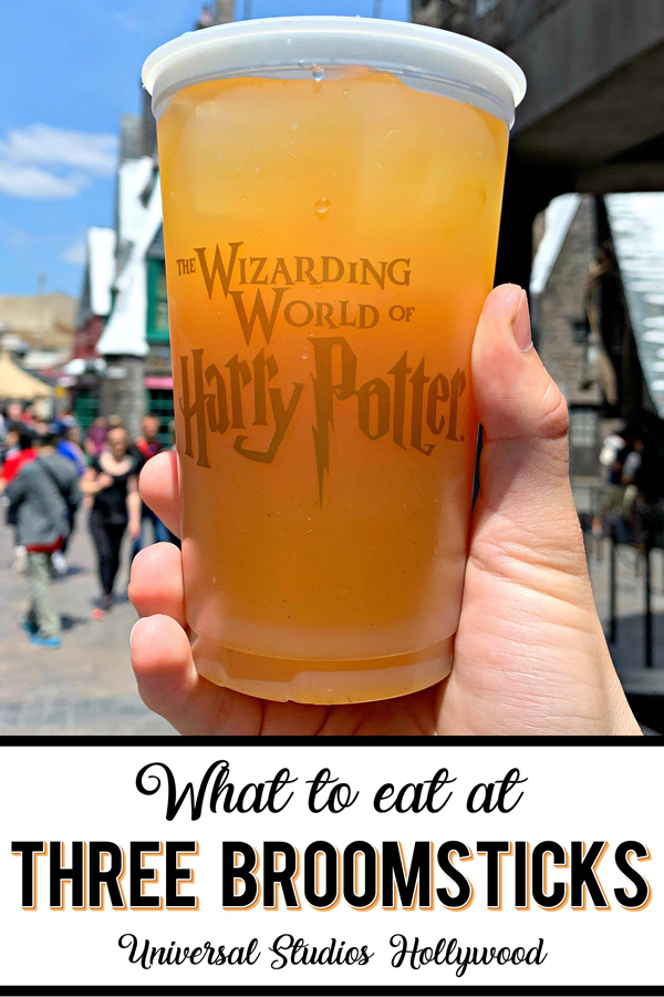 Eat like a Hogwarts student at Three Broomsticks in Wizarding World of Harry Potter and enjoy a Butterbeer in Three Broomsticks