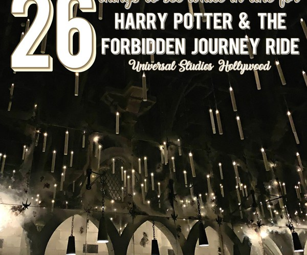 Harry Potter and the Forbidden Journey Ride Hollywood