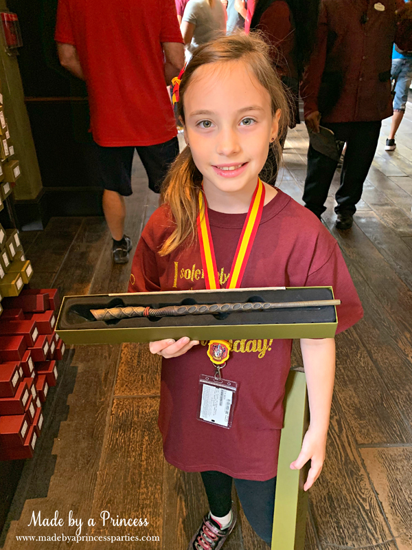 Universal Studios Hollywood Ollivanders let the wand choose you