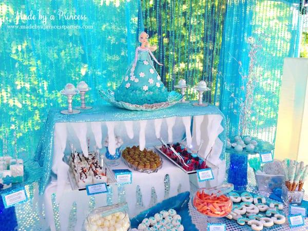 magical frozen birthday party ideas