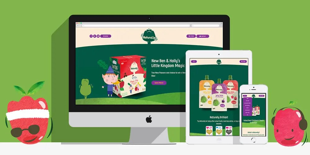 Naturelly Jelly Juice: By Factory, Digital Agency In Manchester