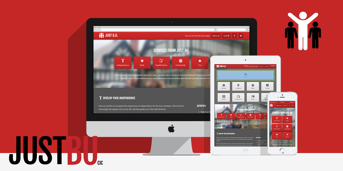 Brand and Web Presence for Just BU