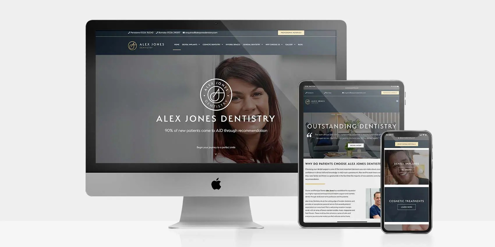 Alex Jones Dentistry: By Factory, PPC Agency In Manchester