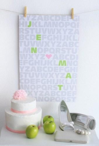 GREEN APPLE WEDDING PRINT