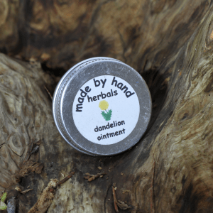dandelion ointment | natural | herbal | hedgerow | remedies