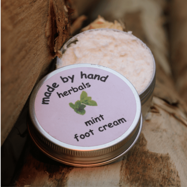 mint foot cream | herbal | natural | traditional