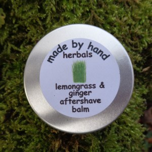 lemongrass & ginger aftershave balm | natural | herbal | hedgerow | traditional