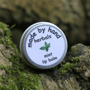 mint lip balm | hedgerow | traditional | Natural | hand made