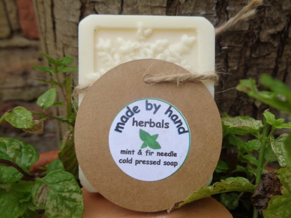 fir needle and peppermint soap | Cold Pressed Soap | hand nade | natural | traditional
