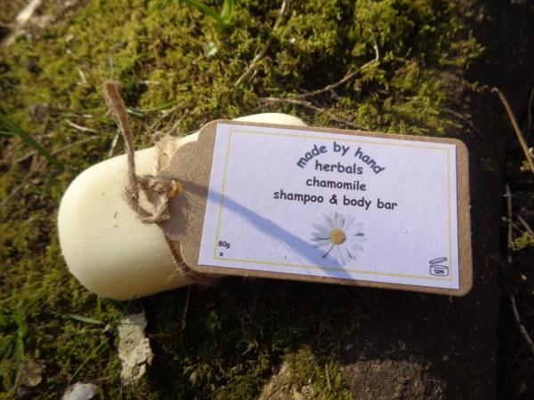 Chamomile shampoo & body bar