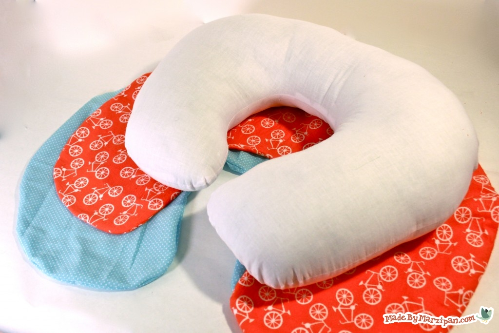 sew a poppy nursing pillow slip cover
