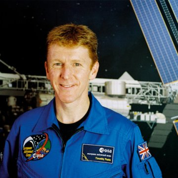 Astronaut Tim Peake. Photo courtesy of ESA