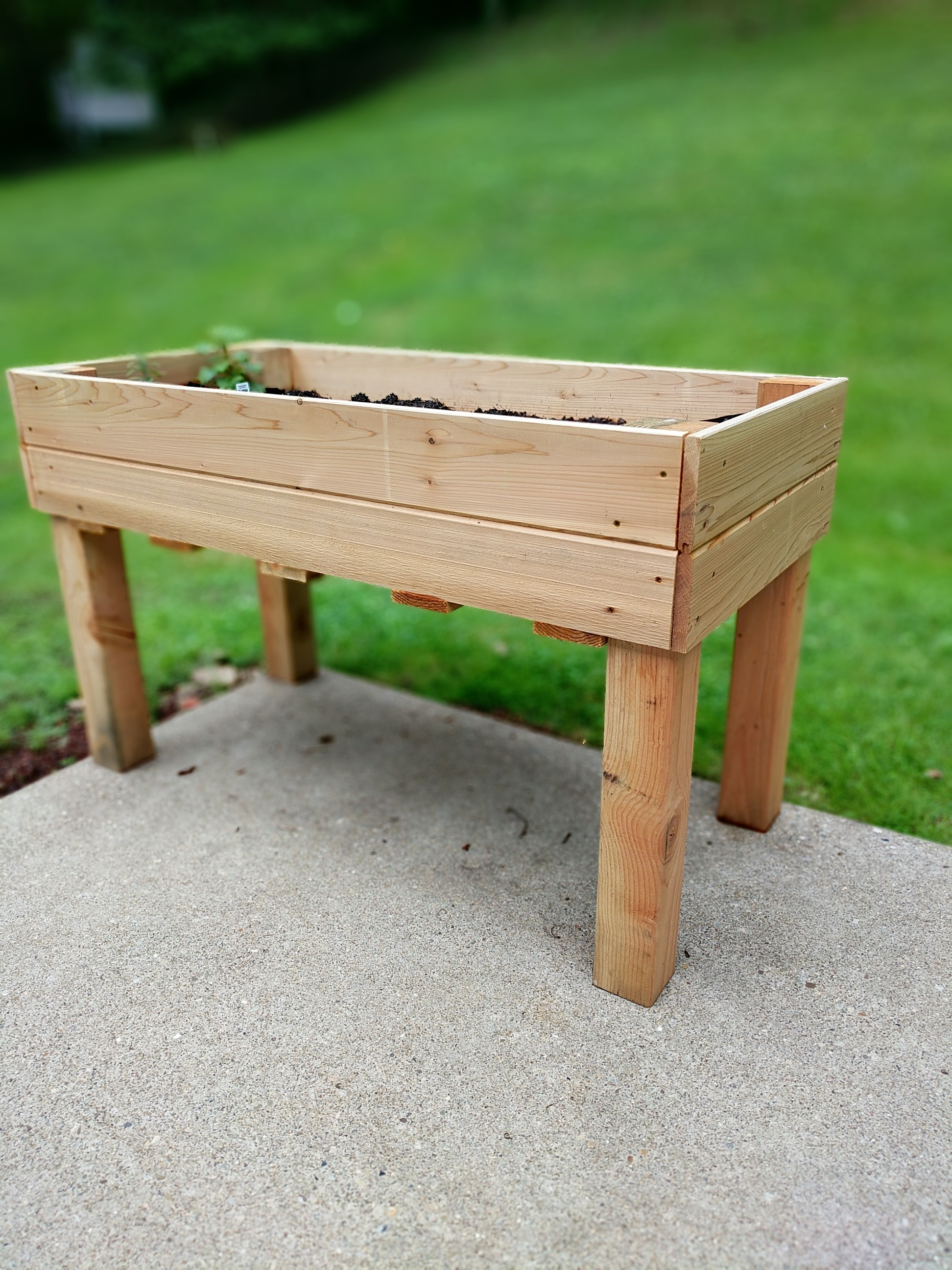 Elevated Garden Bed Made By Mitch