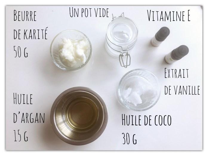 recette de baume corporel à la vanille maison