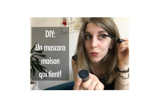 diy mascara solide maison