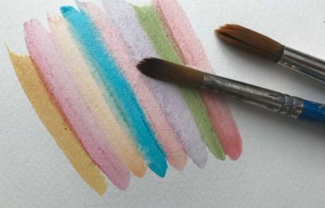 diy watercolour paint colour range